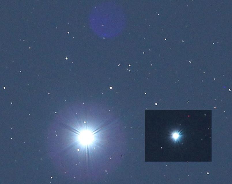 Erster sterntest an wega mit böser Überraschung teleskop optik